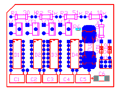 P-CAD PCB с использованием